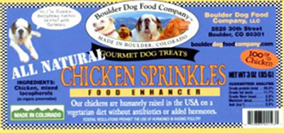 Boulder Recalls Dog Food for Salmonella Risk